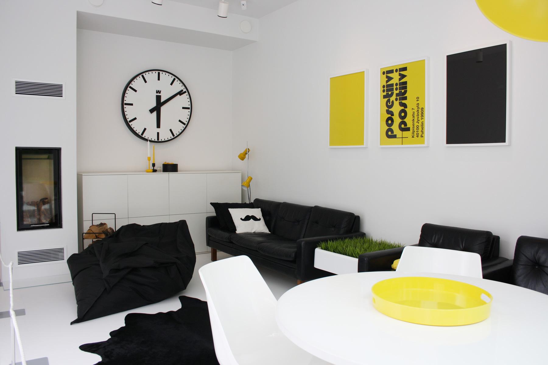 Asuntomessut 2014 Jyväskylä, talo Luck takkahuone