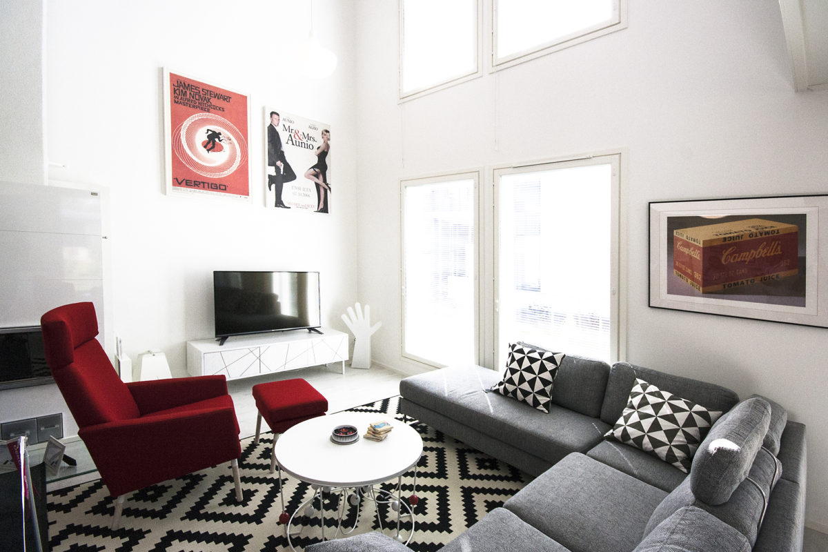 Asuntomessut 2015 Vantaa, Deko olohuone