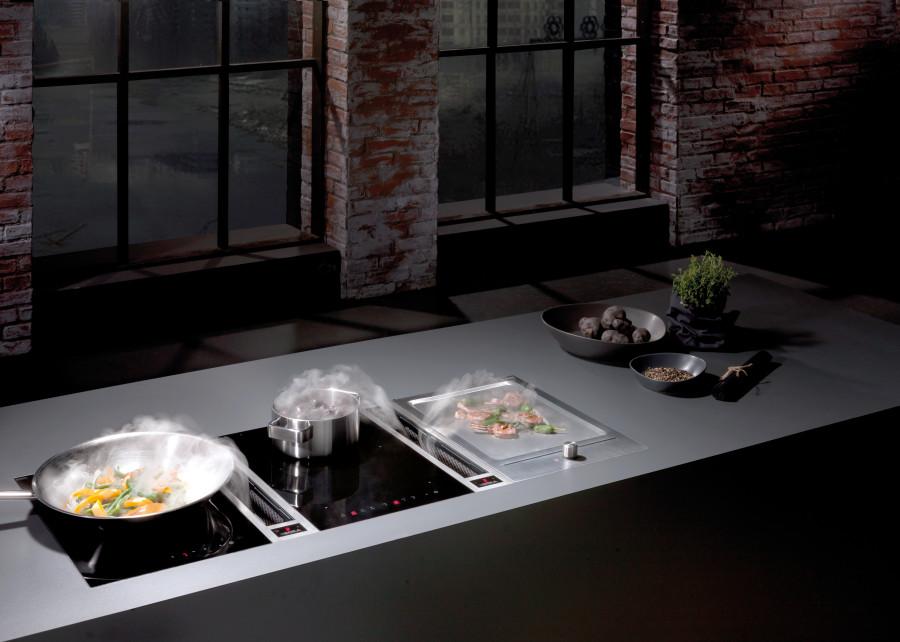 kaunis liesituuletin puhdistaa ilmaa ja on osa keitti n sisustusta ideat vinkit. Black Bedroom Furniture Sets. Home Design Ideas