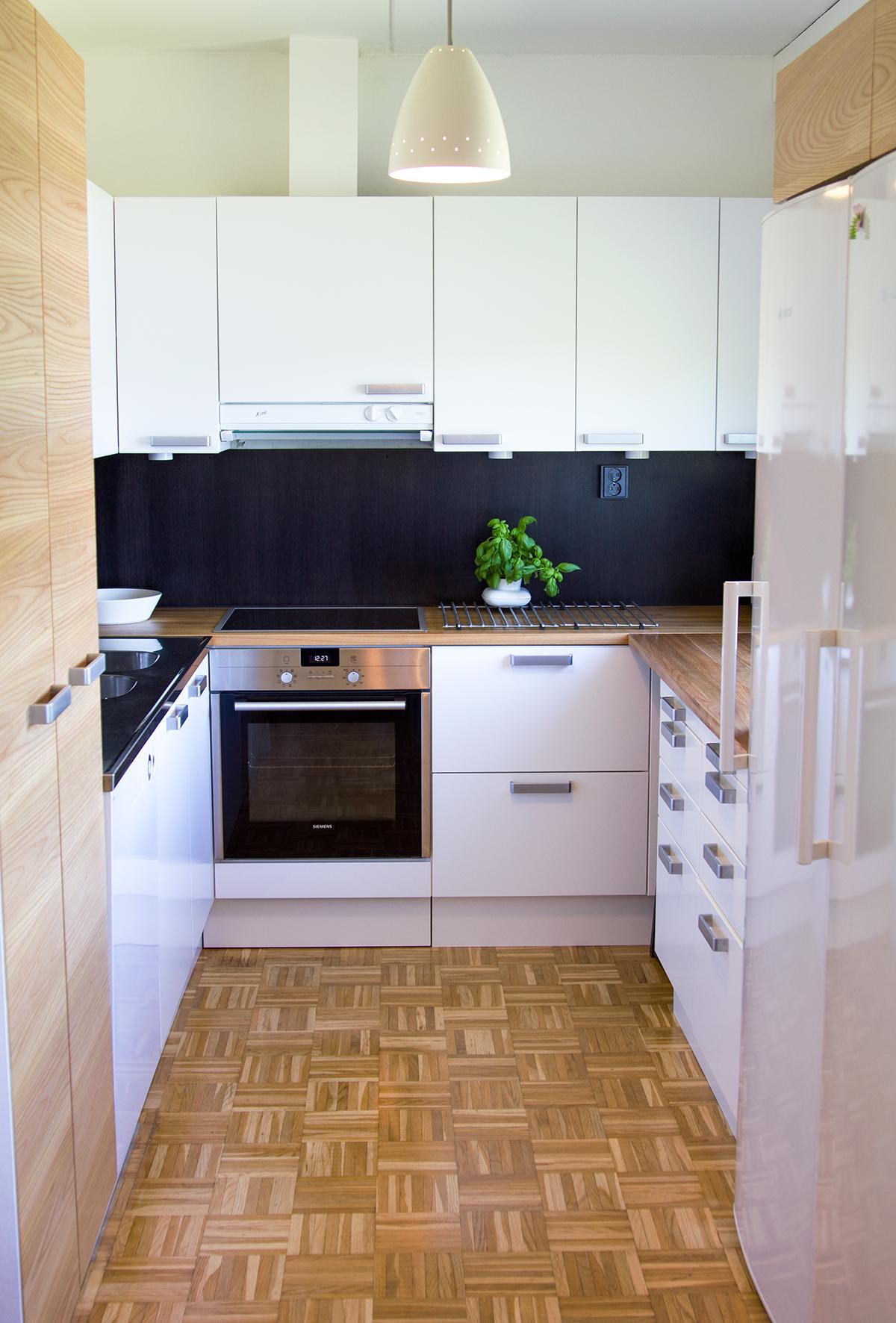 pienen u-keittion remontti valmiina