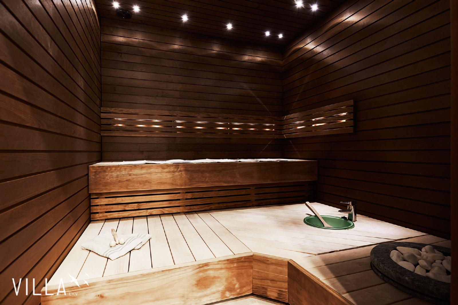 Sauna Heater and Other Luxury Touches Which Could Really