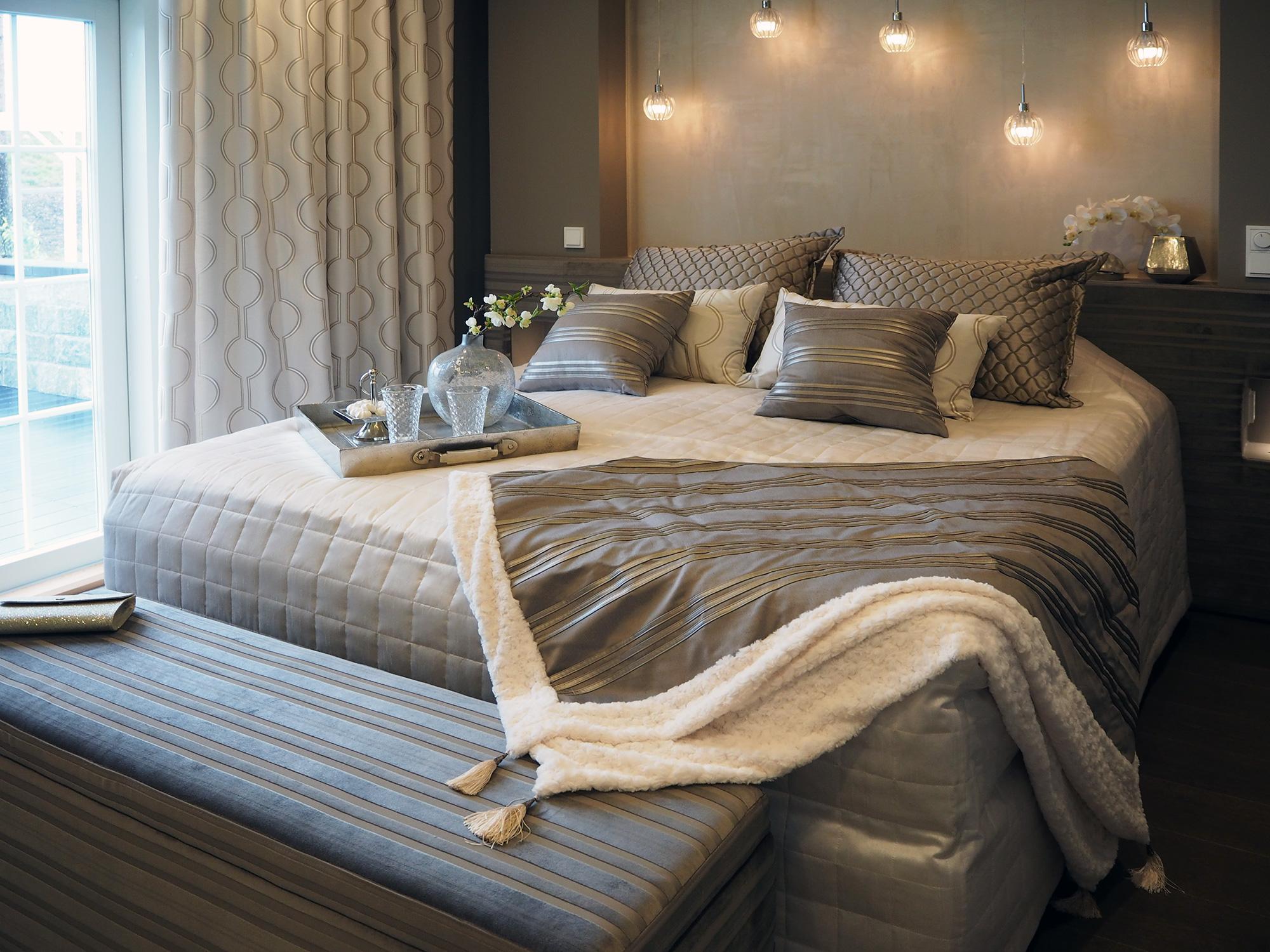 Asuntomessut 2016 Villa Tango makuuhuone
