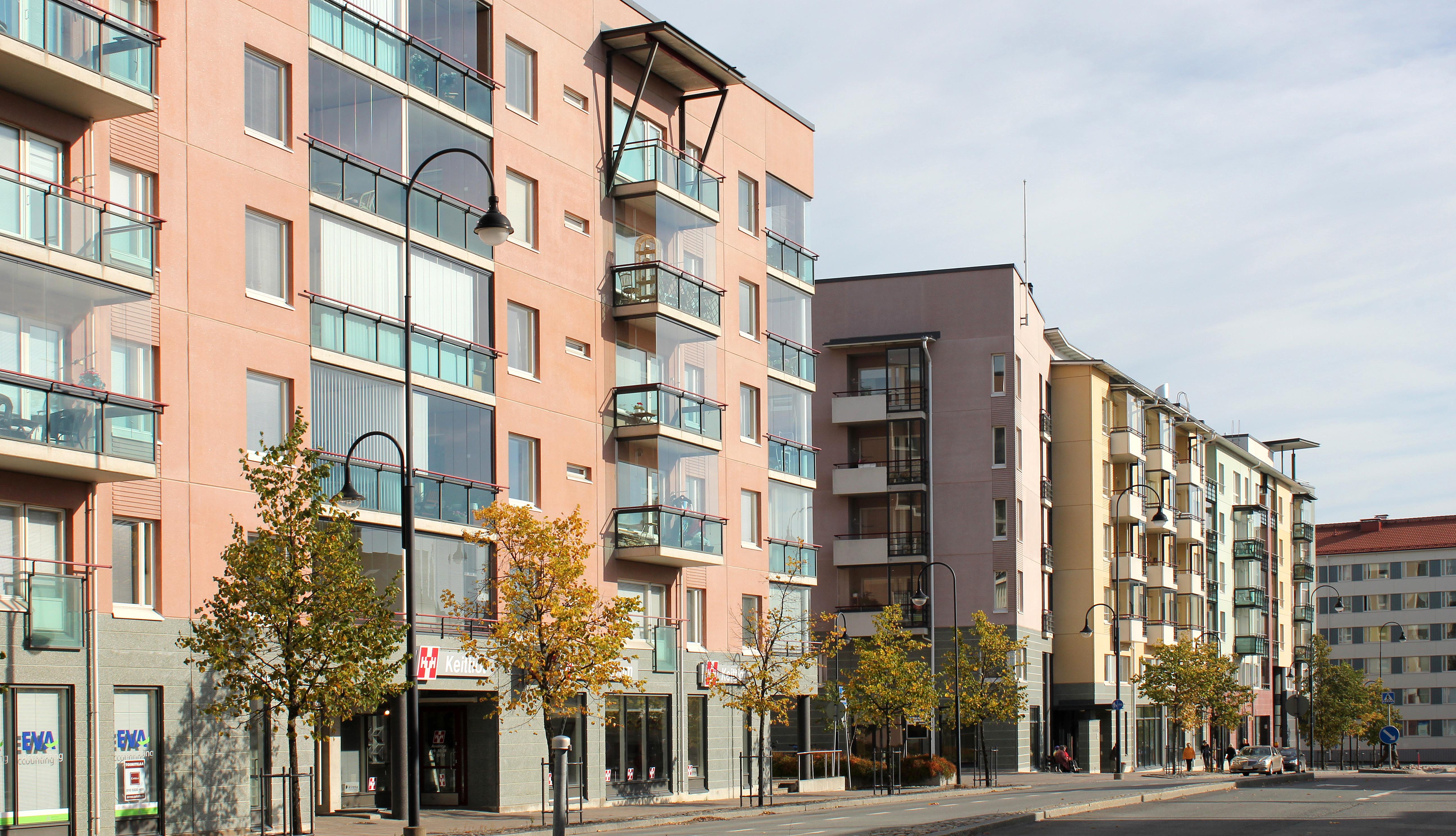 Vuokra-asunnot Tampereella Tampellassa