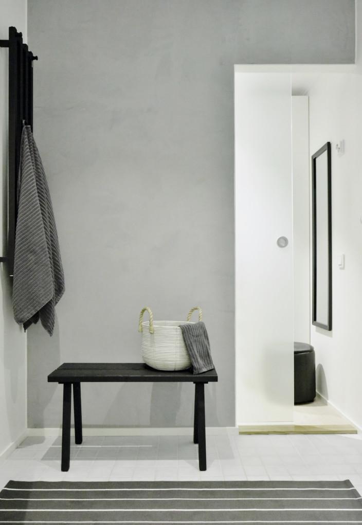 Kotivierailu pukuhuone