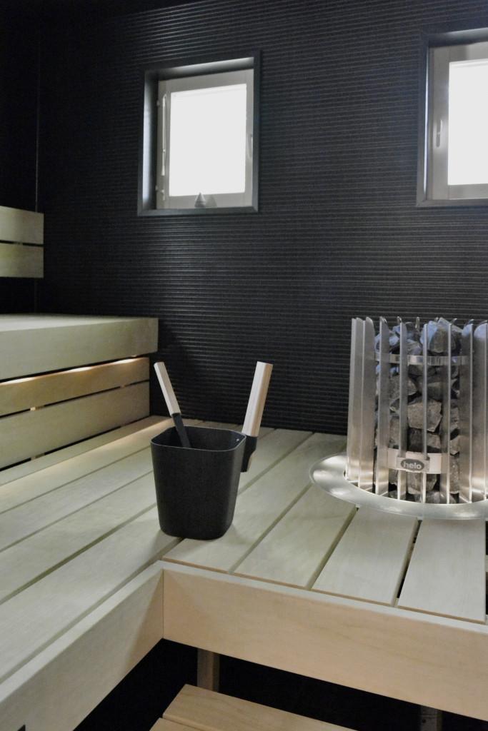 Kotivierailu sauna