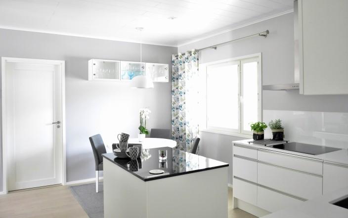 Kotivierailu keittiö