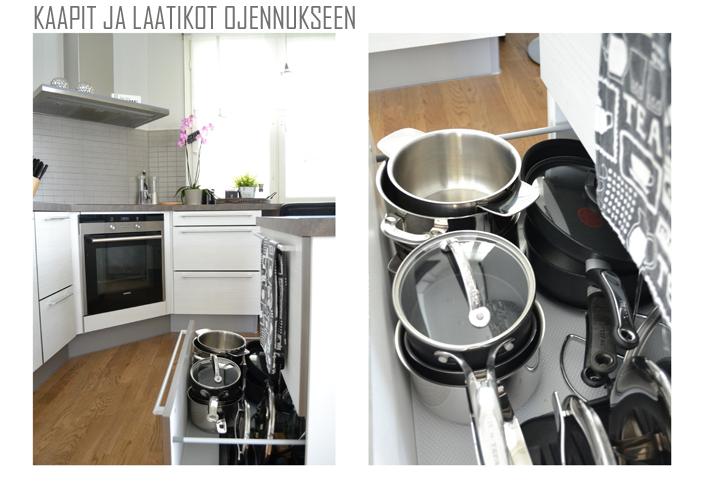 keittiö siistiksi