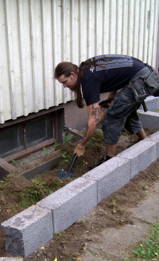 kissatarhan rakentamisen aloittaminen