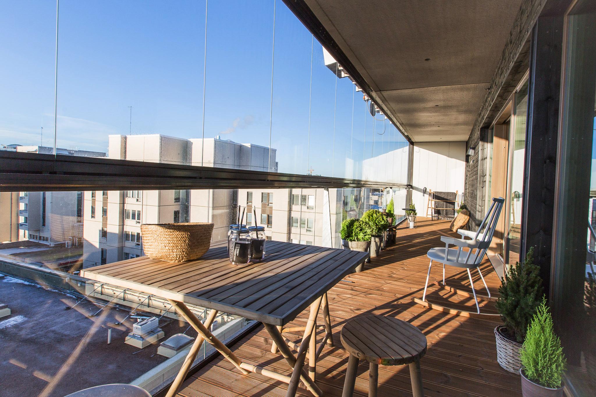 Cityasunto esittelyssä - kerrostalokoti katujen ja kauppojen yllä