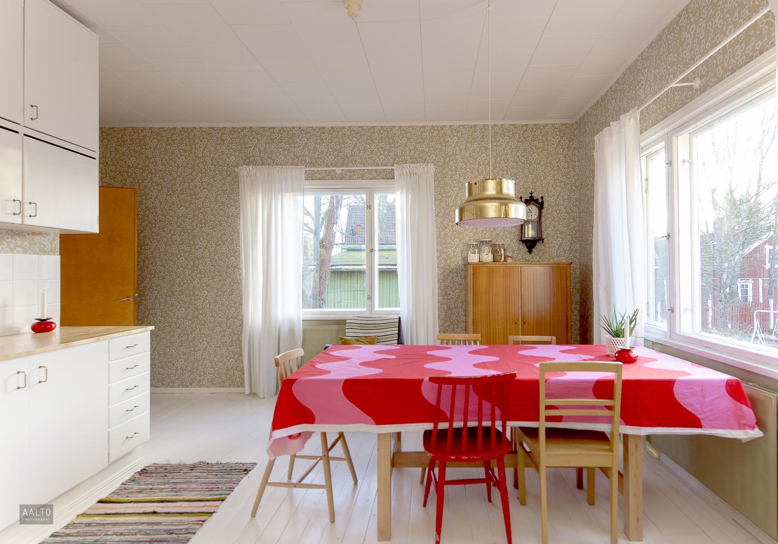 50 luvun keittiö on kunnostettu vanhaa kunnioittaen  Etuovi com Ideat &