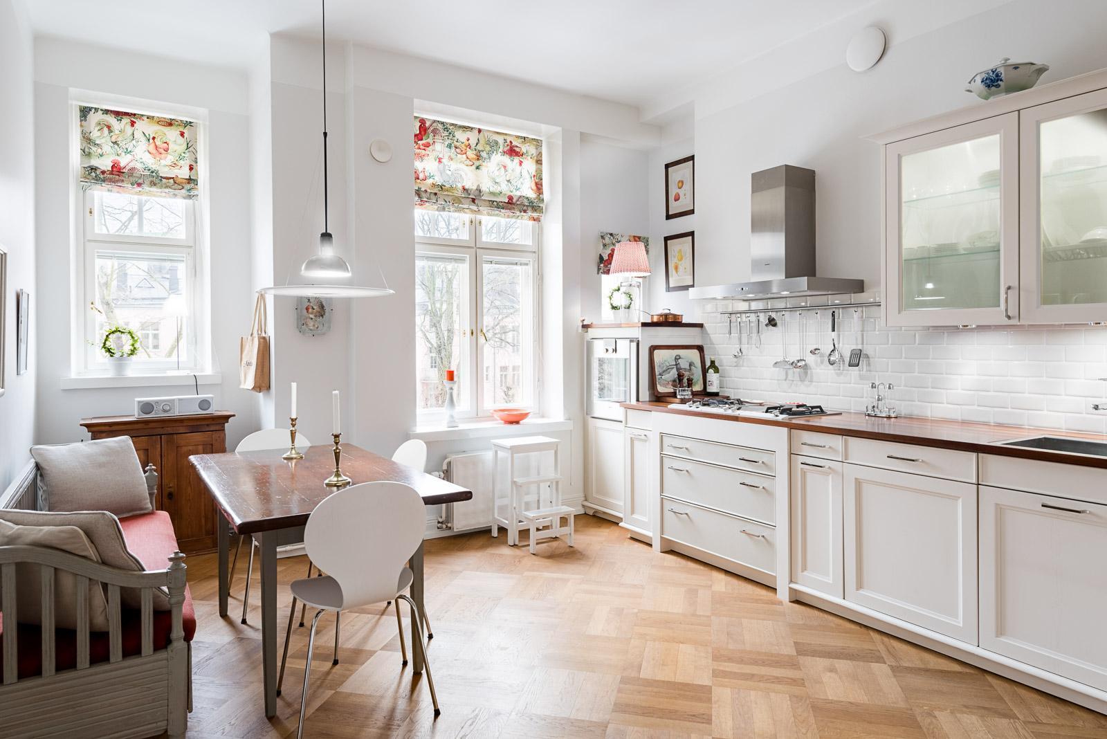 Kaunis keittiö kaupunkikodissa  Etuovi com Ideat & vinkit