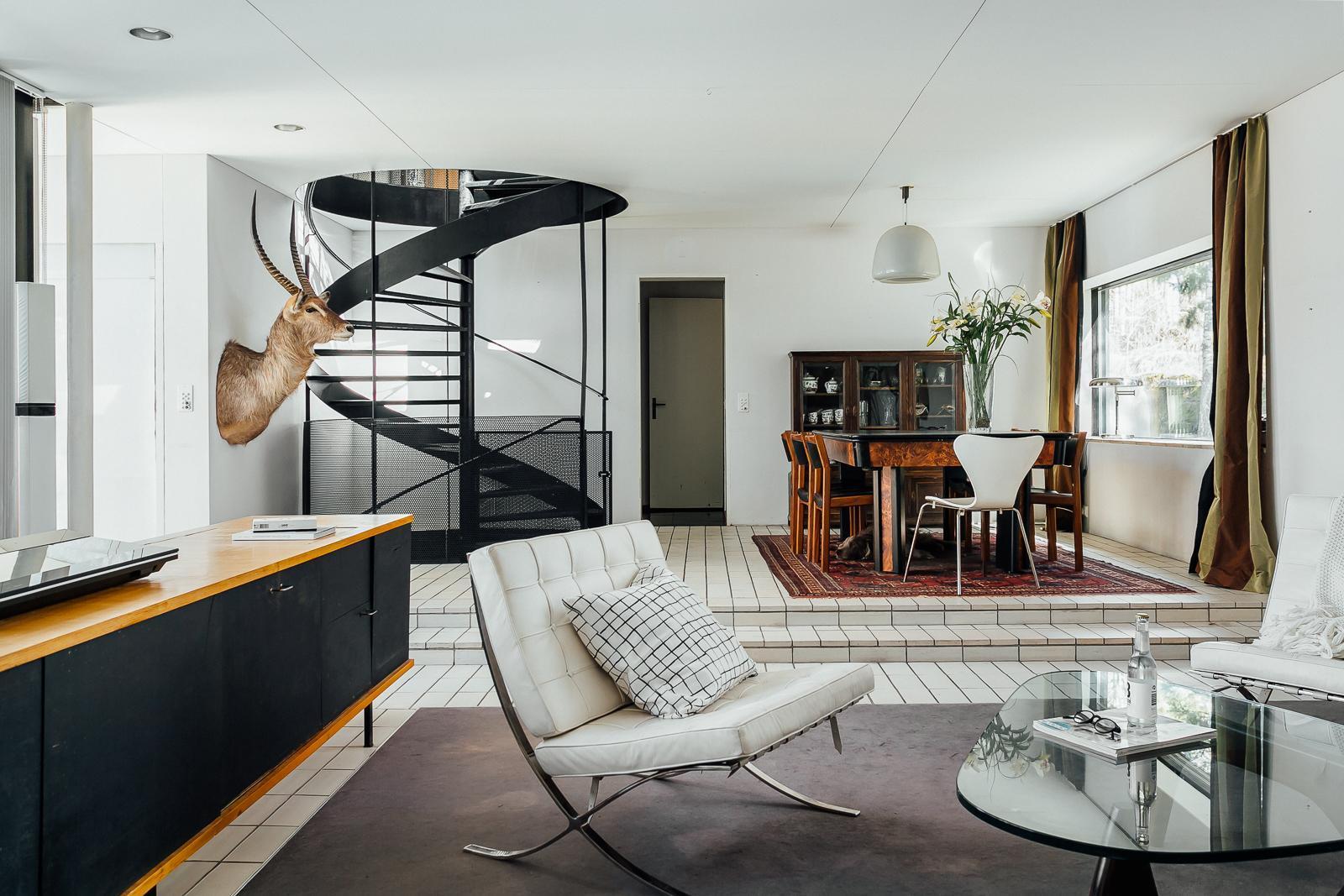 50-luvun koti sisältä