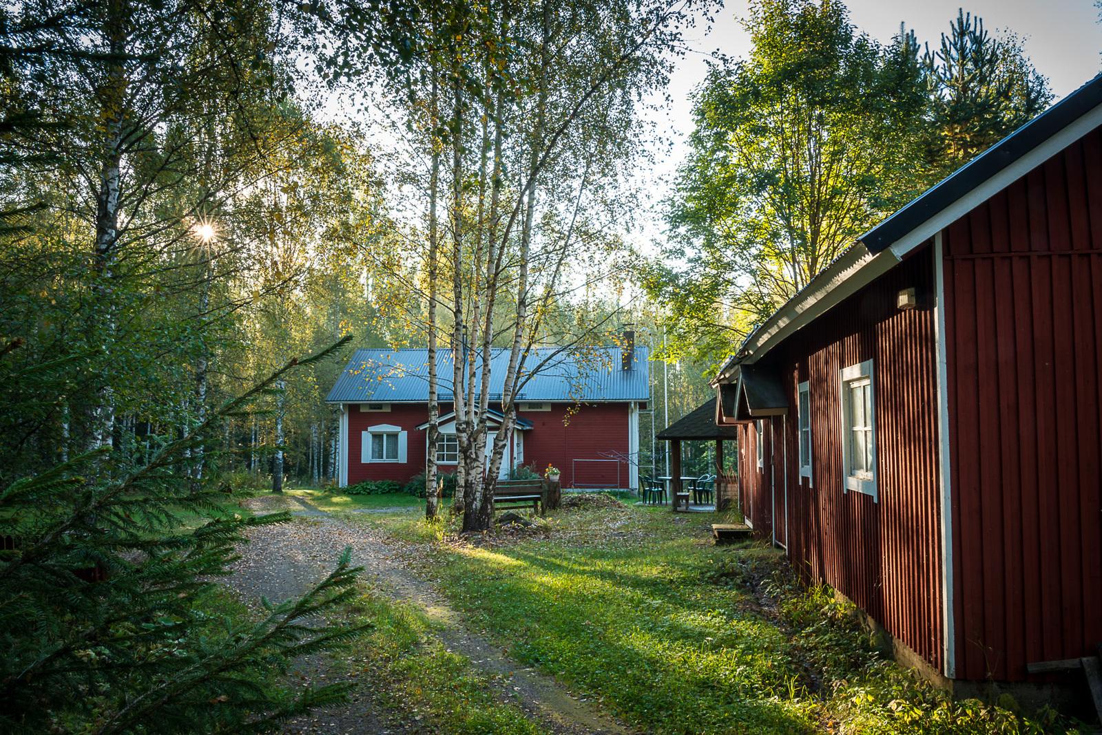 Vapaa-ajan asunnot Kerimäki punainen tupa