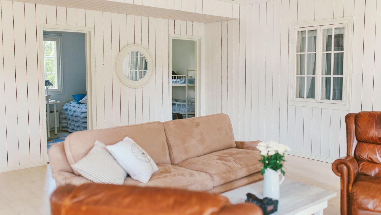 Vapaa-ajan asunnot Sipoon saaristossa merellinen sisustus