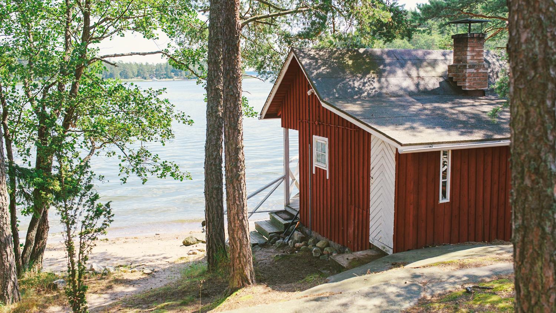 Vapaa-ajan asunnot Sipoon saaristossa rantasauna