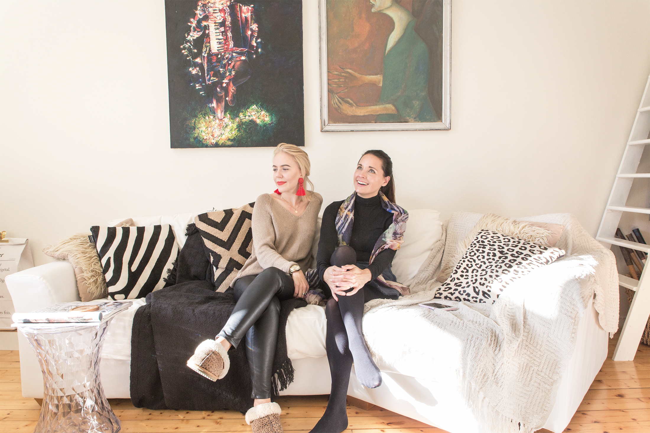 Stylisti Emma ja Maija
