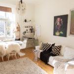 Stylistin koti Kampissa – kekseliäät 45 neliötä