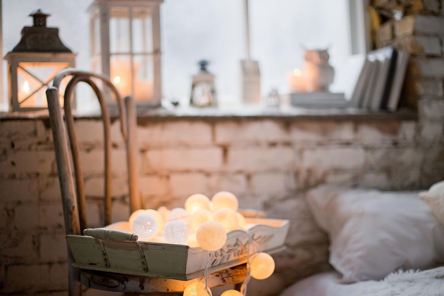 Kynttilöiden valo
