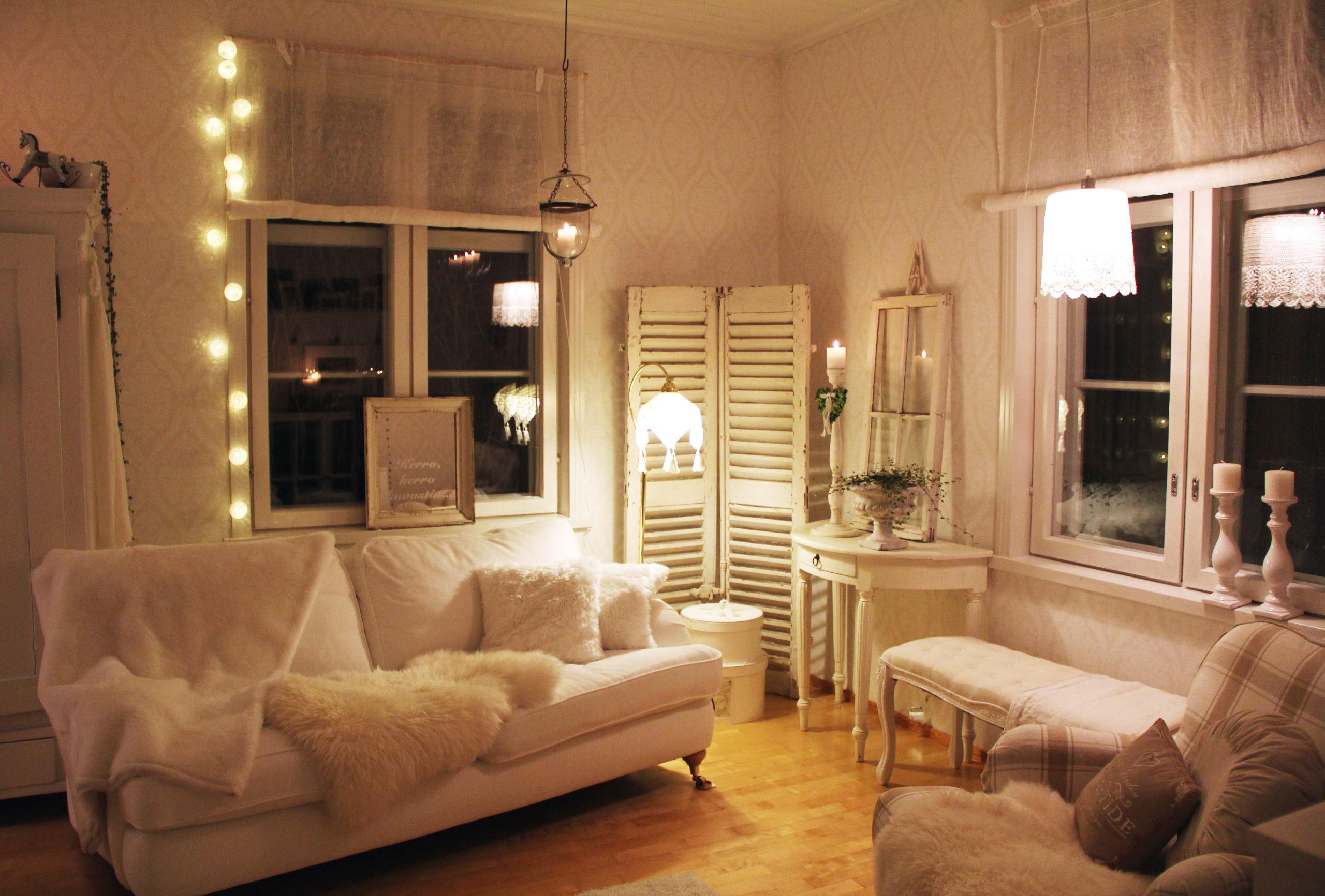 maalaisromanttinen koti