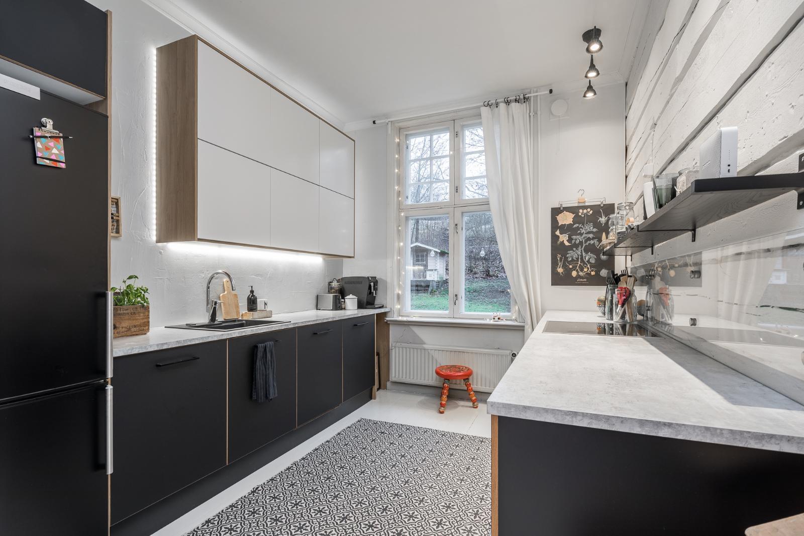 skandinaavinen sisustus keittiössä