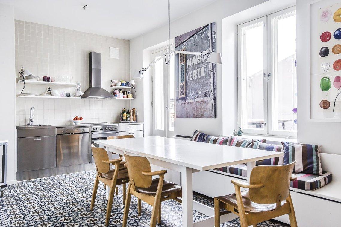 keittiön lattia
