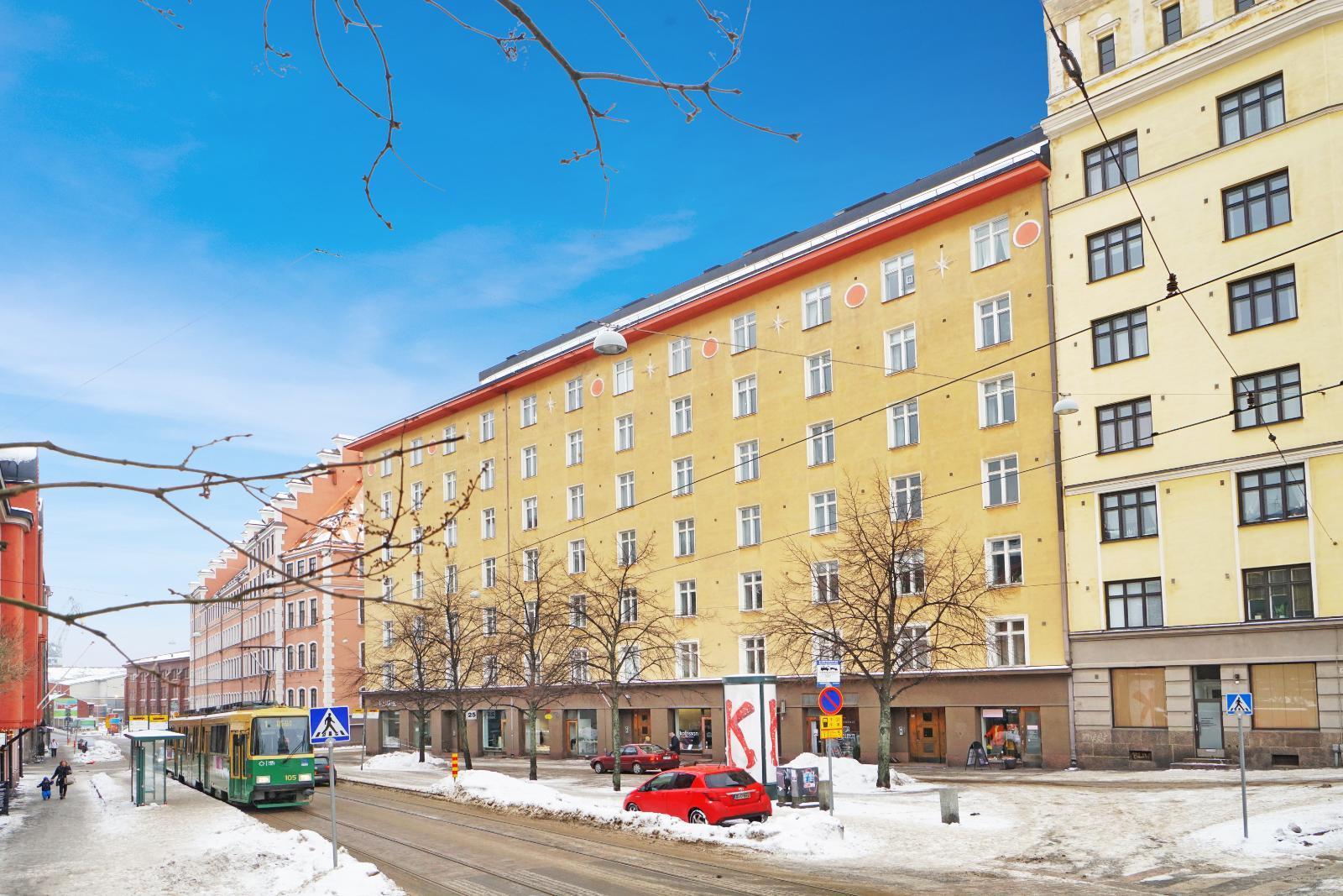 asuntokaupoilla helsingissä: punavuori kerrostalo