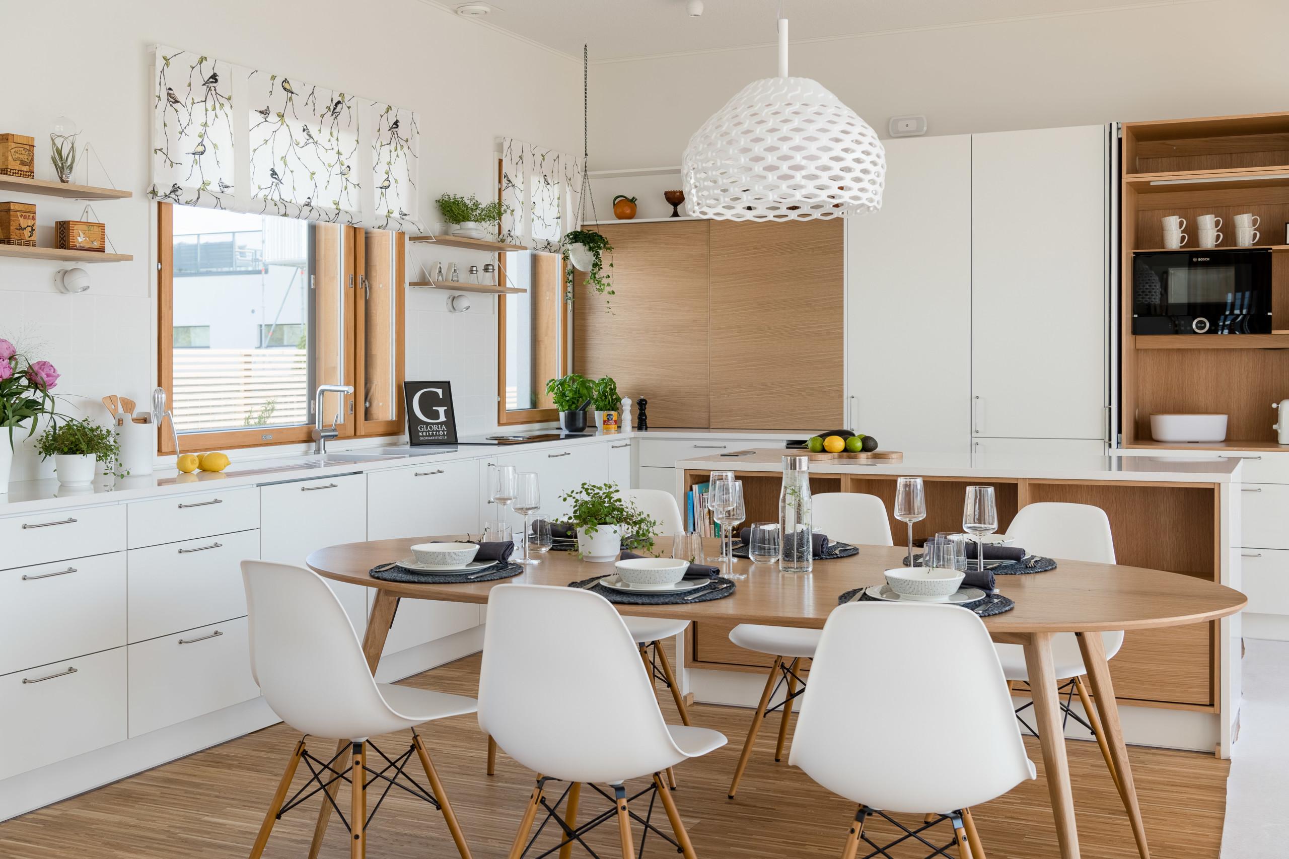 moderni keittiö talo lintula