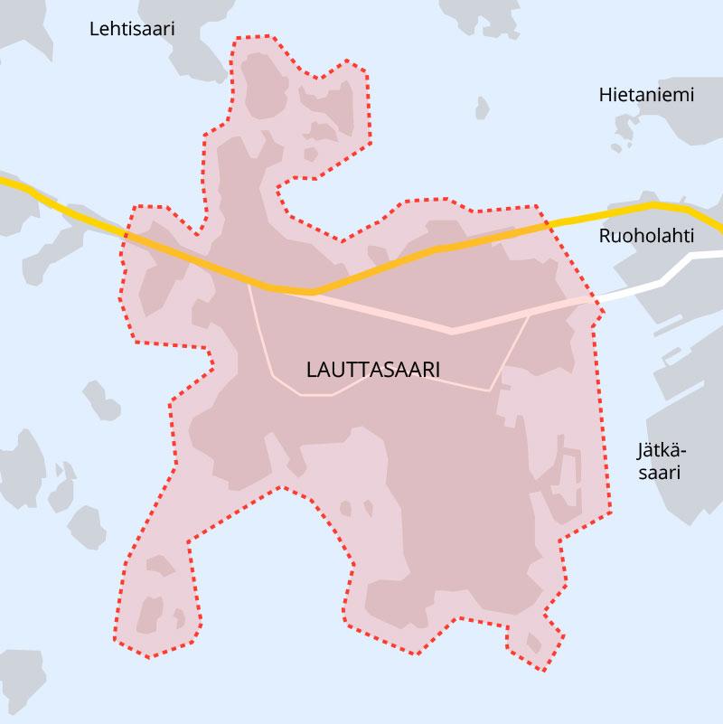 Merellinen Lauttasaari Asuinalue Tarjoaa Laaksosen Perheelle