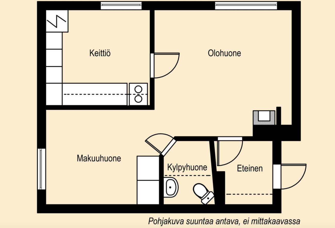 Oulunkylä omakotitalo