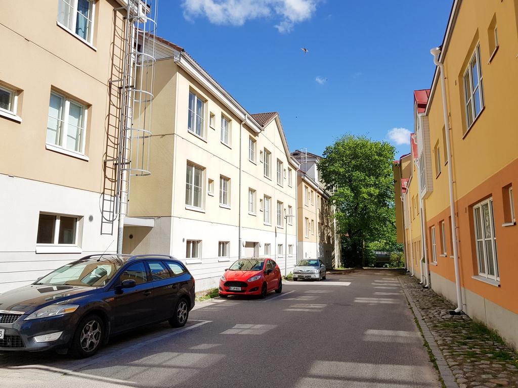katukuva Turun keskustan alueesta