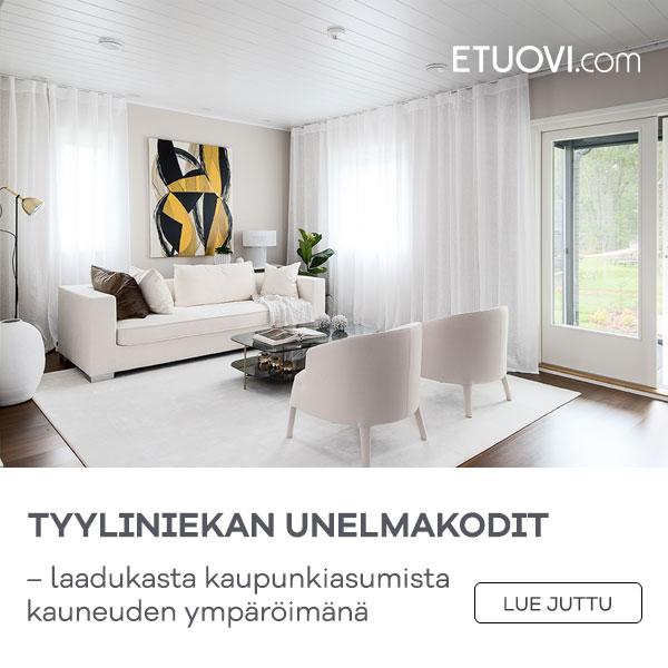 Tyyliniekan unelmakodit Etuovi.com